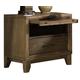 Ligna Soho 1 Drawer Nightstand in Latte 7032LT