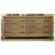 Ligna Soho 6 Drawer Dresser in Latte 7036LT