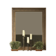 Ligna Soho Landscape Mirror in Latte 7033LTMR
