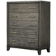 Ligna Soho 5 Drawer High Chest in Gray Wash 7034GW