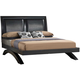 Crown Mark Furniture Galinda King Arch Bed in Black