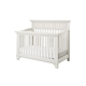 Million Dollar Baby Classic Arcadia 4 in 1 Convertible Crib with Toddler Rail in Dove White M8901VW
