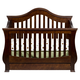 Million Dollar Baby Classic Ashbury Collection 4 in 1 Convertible Crib with Toddler Rail in Espresso M8201Q