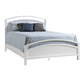 Ligna Tribeca Queen Arched Bed in Snow White 9347SW
