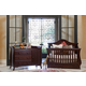 Million Dollar Baby Classic Ashbury Collection 4 in 1 Convertible Crib Set in Espresso M82SET