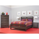 Ligna Tribeca 4 Piece Panel Bedroom in Graphite