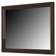 Crown Mark Furniture London Dresser Mirror in Dark Chocolate B6701-1