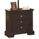 Crown Mark Furniture London Nightstand in Dark Chocolate B6702