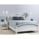 Ligna Tribeca 4 Piece Arch Bedroom in Snow White