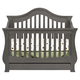 Million Dollar Baby Classic Ashbury Collection 4 in 1 Convertible Crib with Toddler Rail in Manor Grey M8201MG