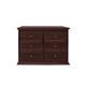 Million Dollar Baby Classic Foothill Collection Drawer Dresser w/ Changer Tray in Espresso M3916Q