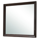Crown Mark Furniture Jacob Dresser Mirror in Rich Brown B6510-11