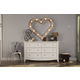 Franklin & Ben Arlington Double Wide Dresser in White B6416W