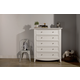 Franklin & Ben Arlington Tall Dresser in White B6417W