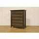 Franklin & Ben Arlington Tall Dresser in Rustic Brown B6417U