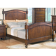 Crown Mark Furniture Sommer King Bed in Warm Brown