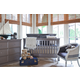 Million Dollar Baby Classic Foothill Collection 4 in 1 Convertible Crib Set in Weathered Grey M39ZSET