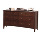 Crown Mark Furniture Lawson Dresser in Warm Brown B7551
