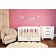 Babyletto Mercer/Modo 3-in-1 Convertible Crib Set in White