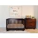 Babyletto Modo 3-in-1 Convertible Crib Set in Espresso