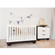 Babyletto Modo 3-in-1 Convertible Crib Set in Espresso/White