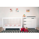 Babyletto Hudson 3-in-1 Convertible Crib Set in White