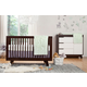 Babyletto Hudson 3-in-1 Convertible Crib Set in Espresso