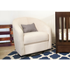 Babyletto Madison Swivel Glider in Ecru M5887EC