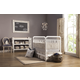 Franklin & Ben Liberty 3-in-1 Convertible Crib Set with Toddler Rail in White