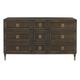 Bernhardt Jet Set Nine Drawer Dresser in Caviar 356-053