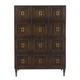 Bernhardt Jet Set Drawer Chest in Caviar 356-118