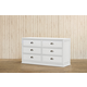 Franklin & Ben Mason Double Wide Dresser in White B5616W