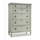 Durham Furniture Springville Collection Chest in Greystone 145-155-GRST