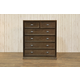 Franklin & Ben Mason Tall Dresser in Rustic Brown B5617U