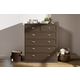Franklin & Ben Mason Tall Dresser in Weathered Grey B5617Z