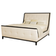 Bernhardt Jet Set Queen Upholstered Bed in Caviar