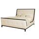 Bernhardt Jet Set California King Upholstered Bed in Caviar