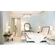 Bernhardt Jet Set Upholstered Bedroom Set in Caviar