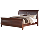 Fairfax Home Furnishings Folio Liberty King Sleigh Bed in Cherry