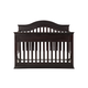 DaVinci Baby Brook Collection 4 in 1 Convertible Crib with Toddler Rail in Dark Java M4401DJ
