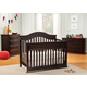 DaVinci Baby Brook-Signature Collection 4 in 1 Convertible Crib Set in Dark Java M44SET