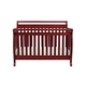 DaVinci Baby Emily Collection 4 in 1 Convertible Crib with Toddler Rail in Cherry M4791C