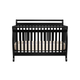 DaVinci Baby Emily Collection 4 in 1 Convertible Crib with Toddler Rail in Ebony M4791E