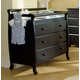 DaVinci Baby Emily Collection 3 Drawer Changer Dresser in Ebony M4755E