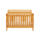 DaVinci Baby Emily Collection 4 in 1 Convertible Crib with Toddler Rail in Honey Oak M4791O