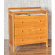DaVinci Baby Emily Collection 3 Drawer Changer Dresser in Honey Oak M4755O