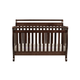 DaVinci Baby Emily Collection 4 in 1 Convertible Crib with Toddler Rail in Espresso M4791Q