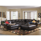 Jackson Lawson 3 Piece Sectional (RSF Section-Armless Sofa-LSF Chaise) in Godiva