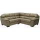 Jackson Lawson 2 Piece Sectional with RSF Section in Putty