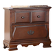 Fairfax Home Furnishings Folio Bethany Nightstand in Maple Brown F4001-01